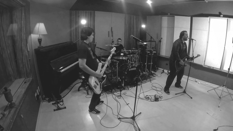 "Made of Stone gravando seu DVD ""Live in Studio"""