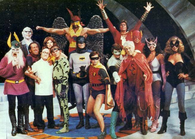 Protagonistas da primeira tentativa de criar um filme da Liga da Justiça