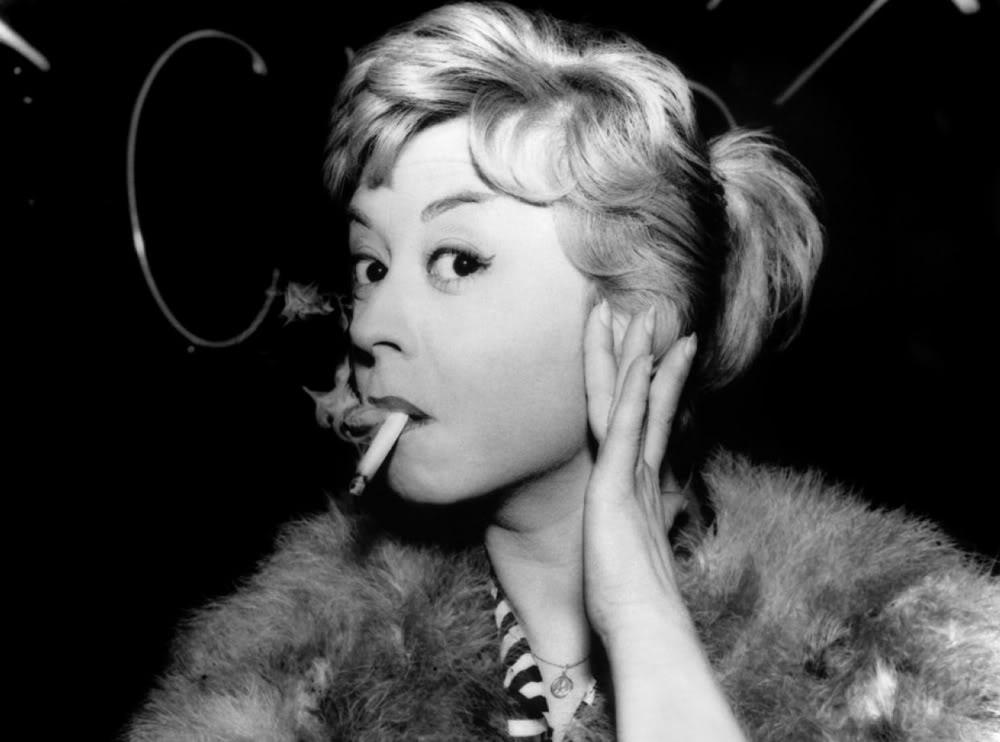 Giulietta Masina, esposa de Fellini e protagonista de muitos de seus filmes