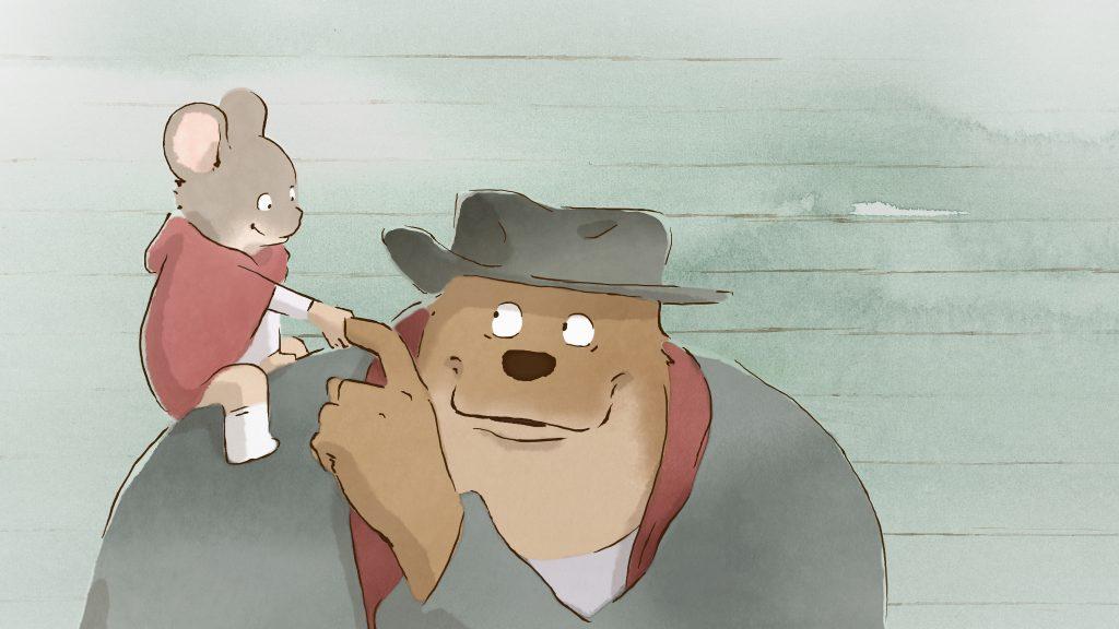 A animação francesa Ernest e Celestine conseguiu uma vaga entre os indicados a melhor animação