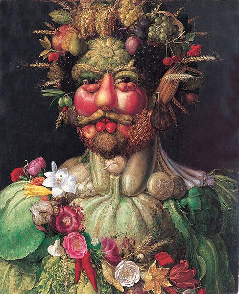 Vertumnus, retrato de Rodolfo II