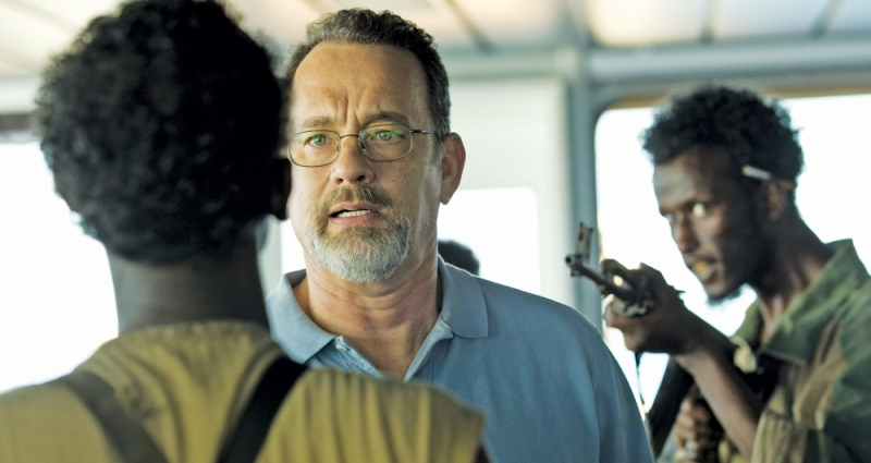 """Cena de """"Capitão Phillips"""", concorrente na categoria de roteiro adaptado"""
