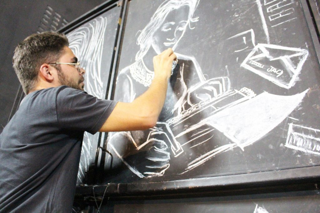 """Daniel Torres é também o desenhista do espetáculo """"Jacy"""""""