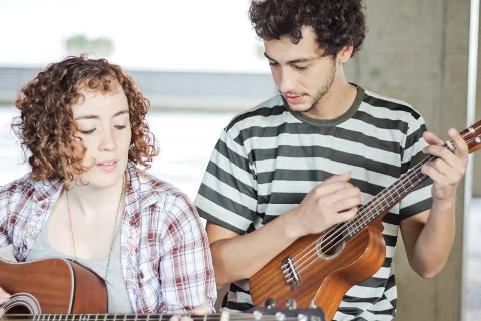 Ana Larousse e Leo Fressato